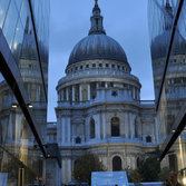 St Paul's from One New Change, London